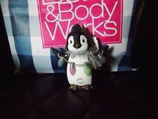 Bath & Body Works Pocketbac Holder Penguin Light-Up Holiday Lights *RETIRED*