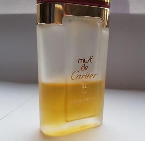 Cartier MUST DE Cartier II  Eau De PARFUM  Restinhalt 20 ml Spray (Vintage)