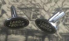 Land Rover Cufflinks Stainless Steel & Enamel