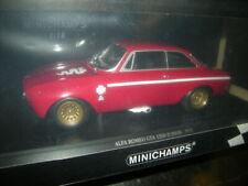 1:18 Minichamps Alfa Romeo GTA 1300 rojo/rojo Edición Limitada 1 de 600 pzas. en OVP