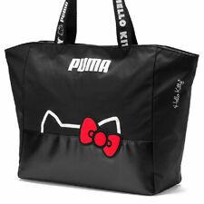 PUMA x HELLO KITTY Tote bag 2019 Women's Large Shopper 14L PUMA Black SANRIO