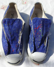 CONVERSE Jack Purcell Sneakers 8 Paint Splatter Low Top CASUAL Shoes women