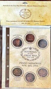 AUSTRALIA IN THE GREAT WAR THE WESTERN FRONT APR-JUL 1914 PENNY MEMORIES