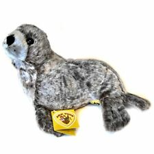 30cm Grey Seal Soft Toy - Plush Cuddly Toys Animal - Suitable for all ages (0+)