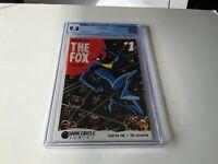 FOX 1 CGC 9.8 WHITE PAGES FOX HUNT DEAN HASPIEL MARK WAID DARK CIRCLE COMICS