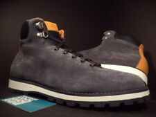 WESC ALEISTER SUEDE BOOTS NIGHTSHADE BLUE BROWN GREY BLACK B405975792 DS NEW 10