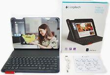 Logitech Type+ iPad Air 2 Blue Keyboard Folio Bluetooth Auto Wake Case Stand -A-