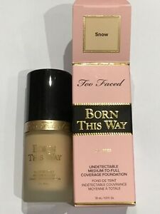 TOO FACED Born This Way Foundation( 30ml ) Snow BNWB Authentic