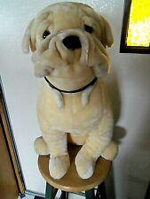 "Large 28"" plush stuffed Bulldog Dog"