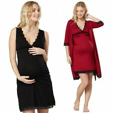 HAPPY MAMA Women's Maternity Nightdress / Robe SOLD SEPARATELY 1249