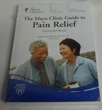 The Great Courses Mayo Clinic Guide to Pain Relief Transcript Book Brand New ✔