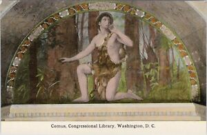 DB BS Reynolds postcard, Milton-Comus, H.O. Walker , Washington, DC