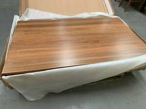 45%OFF SOLID HARDWOOD SPOTTED GUM 1800L TABLE ONLY