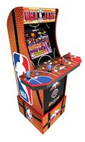 NBA Jam Arcade 1up Cabinet Arcade Light Up Marquee Arcade1up Free Adapters Wi Fi