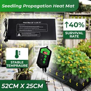 Seedling Propagation Heat Mat + Digital Temperature Controller Adjust Thermostat