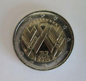 2 Euro Commémorative France 2014