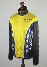 Scott Racing USA cycling team light jacket Size XL 90's
