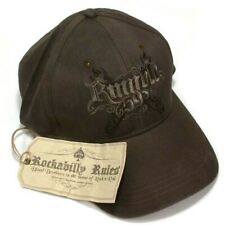 """Trucker Hat Baseball Cap with """"Rumblle 59"""" Logo Embroidered"""