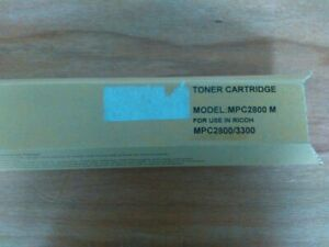 COMPATIBLE RICOH MPC3300 MAGENTA TONER CARTRIDGE NEW, FREE DELIVERY