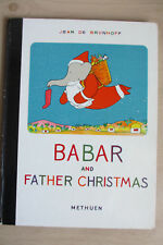 De Brunhoff. 4 Babar titles, all from 1960s,  Babar and Father Christmas etc
