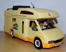 Playmobil 3647 Wohnmobil mit Alkoven und viel Zubehör, top