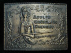 QI03115 VINTAGE 1970s **ADOLPH COORS & CO. BREWERY GOLDEN, COLO.** BELT BUCKLE