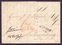 Vorphilatelie Bremen 1835 - Stempel des preussischen Postamts in Bremen (257)