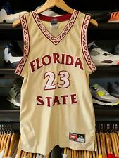 Vtg Nike Team Sports Florida State Seminoles Ncaa Authentic Jersey Mens Size 36
