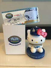 *NEW IN BOX* Hello Kitty Los Angeles Dodgers 2012 MINI Bobble Bobblehead SGA TIX