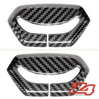 Lamborghini Aventador Safety Belt Seat Buckle Trim Cover Cowl 100% Carbon Fiber