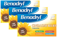 Benadryl Allergy & Hayfever One a Day 10mg Tablets - 3 x 7 tablets (Triple Pack)