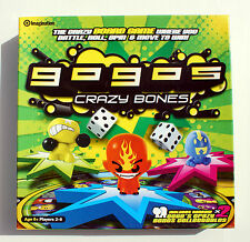 GOGO'S CRAZY BONES BOARDGAME by IMAGINATION 2009 (WITH 2 COLLECTIBLE FIGURES)