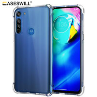 For Motorola Moto G8 Power Caseswill Shockproof Rubber TPU Slim Clear Case Cover