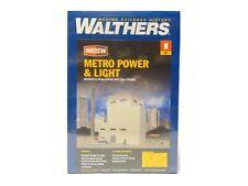Metro Power & Light Building N Kit - Walthers Cornerstone #933-3837 vmf121