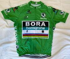 Peter Sagan signed 2018 Tour de France green cycling jersey Bora *Proof*