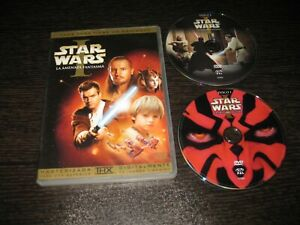 STAR WARS LA AMENAZA FANTASMA DVD