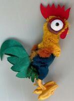 Disney Parks Moana Hei Hei Chicken Rooster yellow legs Stuffed Plush Toy NWOT