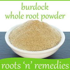 Burdock Whole Root Powder - 50g - Premium Quality & Pure.