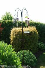 Deluxe ALL IN ONE Complete Garden Bird Feeder Bath Table Bird Feeding Station