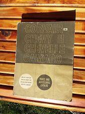 Original 1960-1969 Corvair Chevy II Chevelle Camaro Parts Catalog GM EUC!