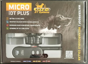 NEW - DT Systems Micro iDT Plus Remote Dog Training Collar Shock Collar
