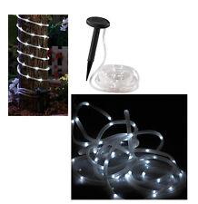 2,86€/1m) 7m Solar-Lichtschlauch Lichterschlauch LED außen Lichterkette Schlauch