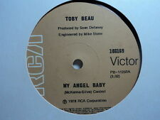 """Toby Beau """"My Angel Baby"""" Quite Rare Oz 7"""""""