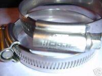 40 - 55 mm JCS Hi-Grip Hose Clip - Stainless (2)