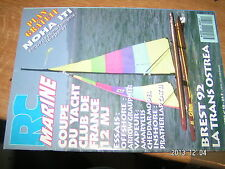 RC Marine n°19 Plan encarté NOHA ITI 1er partie / Arrow Amaryllis Prather Lap ..