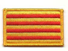 Parche bandera PATCH ESPAÑA CATALUÑA CATALUNYA 7x4,5cm bordado termoadhesivo