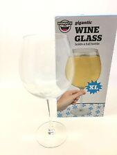 Novelty Gigantic Wine Glass XL Size Holds Full Wine Bottle Gag Gift