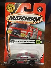 2001 Matchbox Safety Stars Chevrolet Camaro Police #7