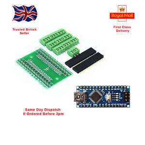 Arduino Mini Nano V3.0 ATmega328 Mini USB with expansion connection shield