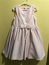 Janie and Jack Pink Bow Special Occasion Dress EUC Size 4